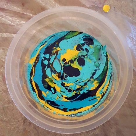 Flip Cup Technique gobelet Pouring Technique Peinture