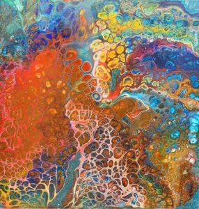 Exemple de Fluid Art Guide Matériel