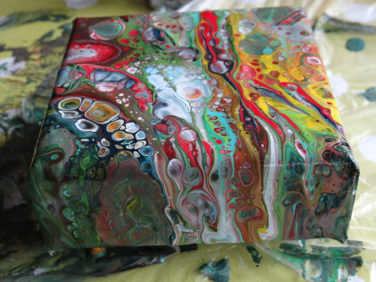 Coulage Art Pouring Fluid Art